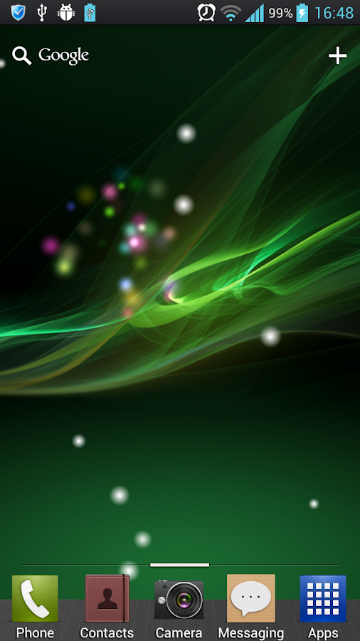 Xperia 2013 Live Wallpaper - screenshot