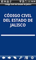 Screenshot of Civil Code Jalisco State