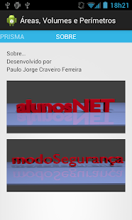 Área, Volumes e Perímetros - screenshot thumbnail