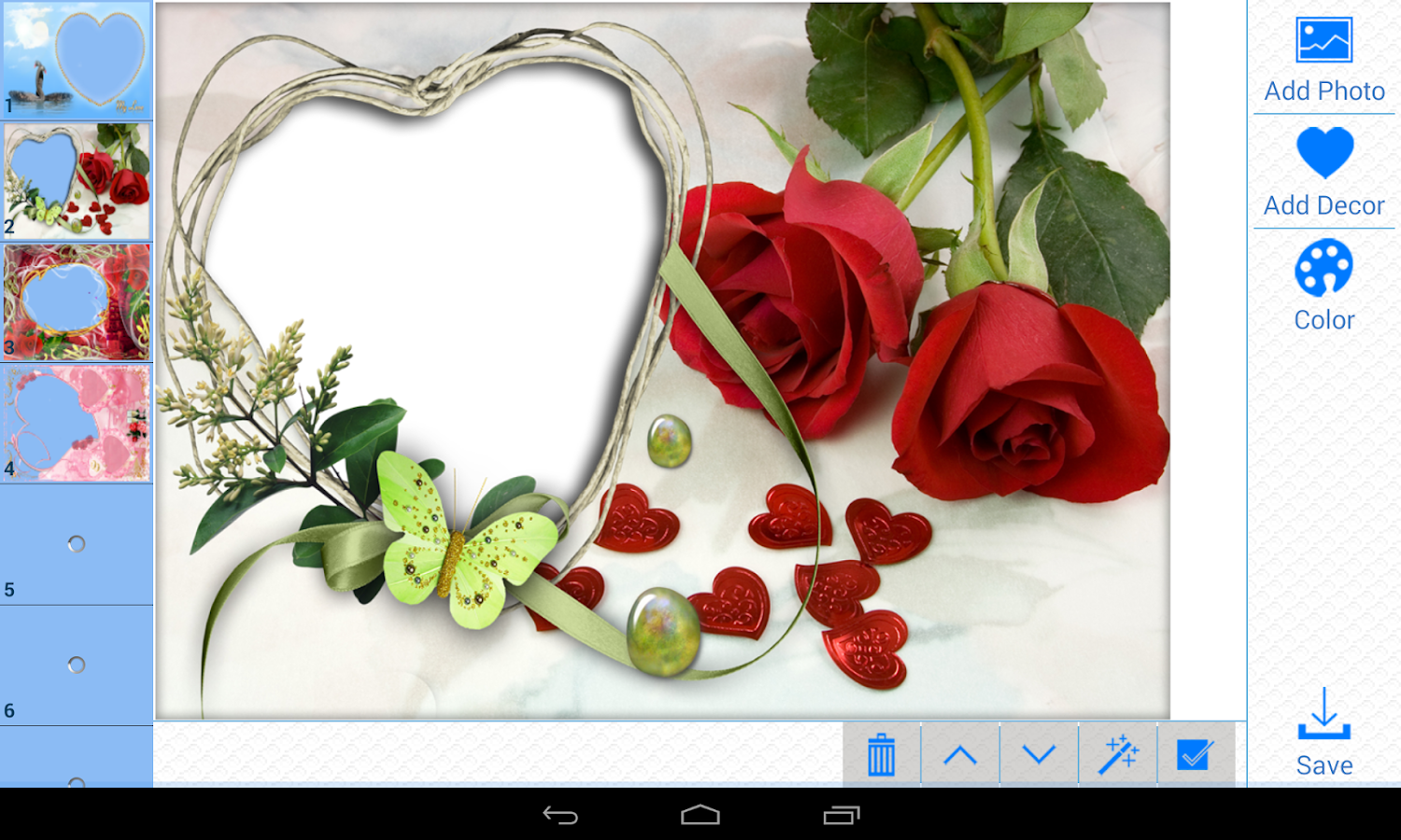 Lover 39 s heart photo frames pro android apps op google play - Marcos de fotos en ikea ...