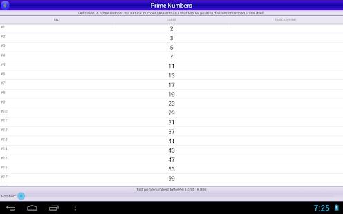 素數 Prime Numbers