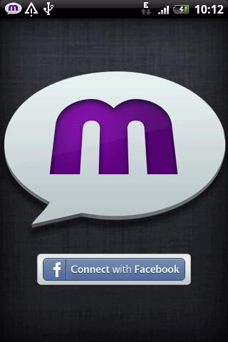 mChat - chat app for Facebook - screenshot
