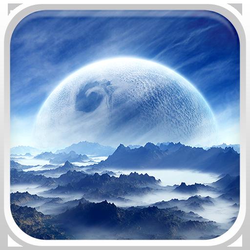 個人化App|的外星世界動態壁紙 LOGO-3C達人阿輝的APP