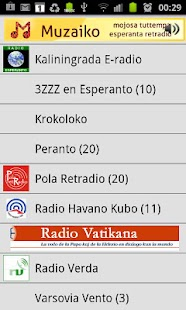 Esperanto-radio Muzaiko- screenshot thumbnail