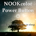 NOOK color power button DONATE logo