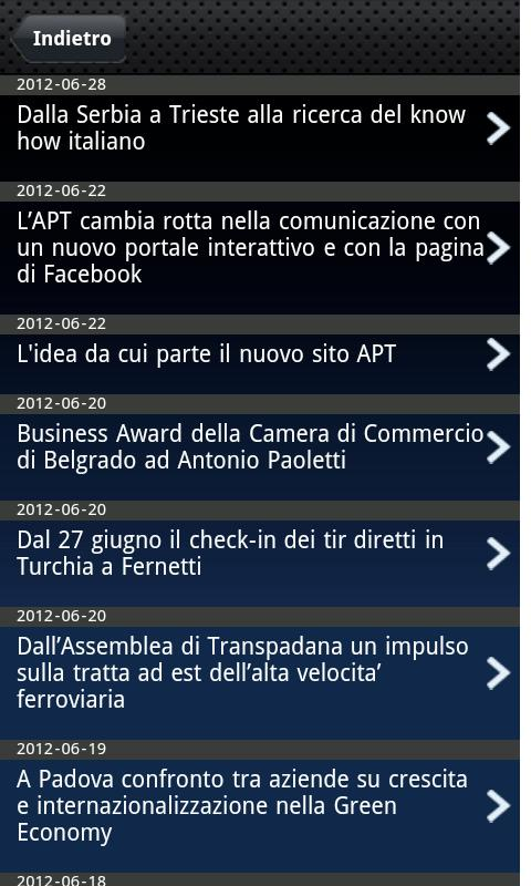Trieste Economica- screenshot