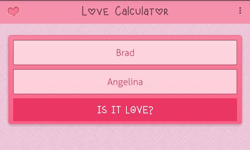 Love Test Calculator|玩休閒App免費|玩APPs