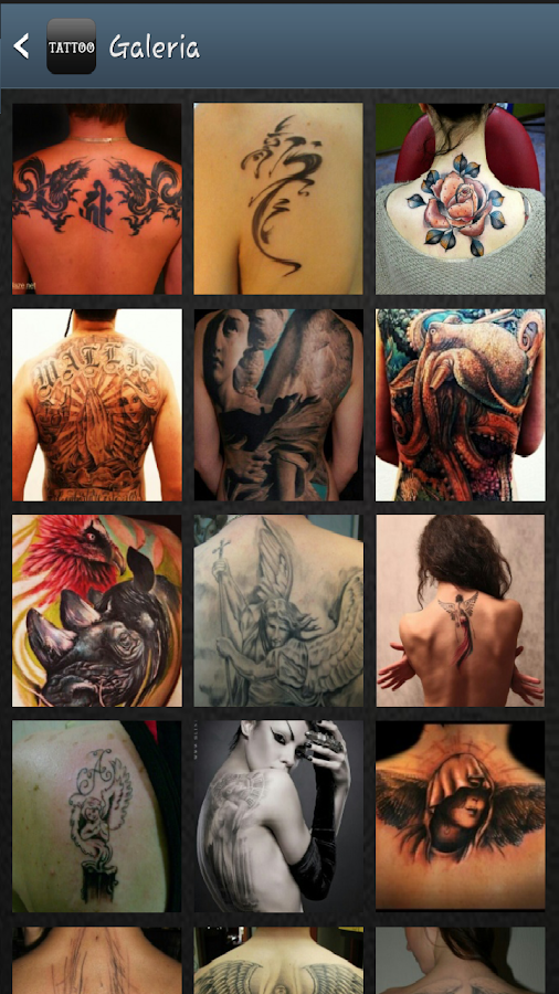 Fotos Tatuajes Tattoo- screenshot