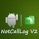 Not Call Log 2 - free (NO ADS)
