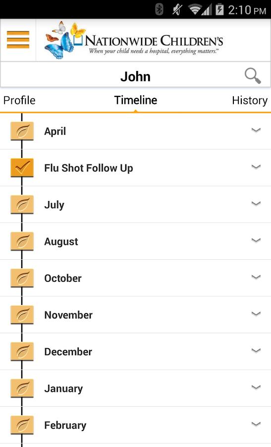myChildren's - screenshot