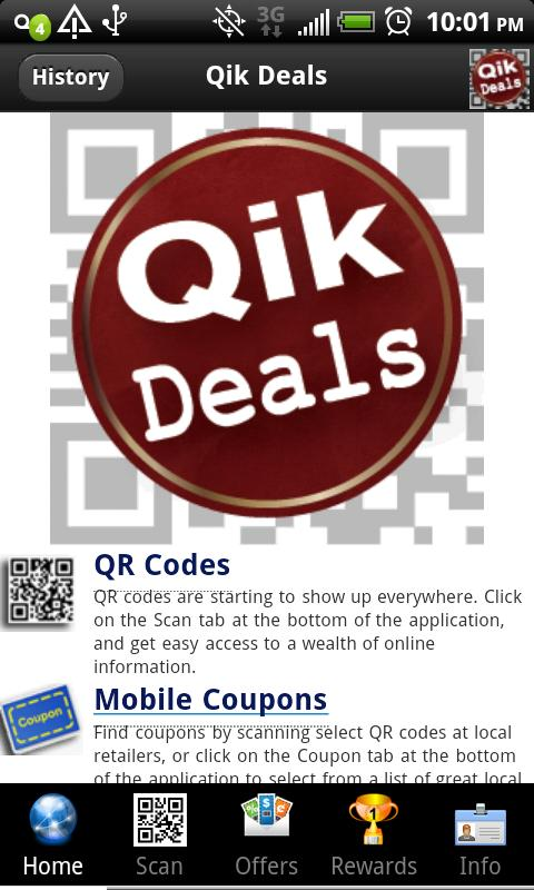 Qik Deals - screenshot