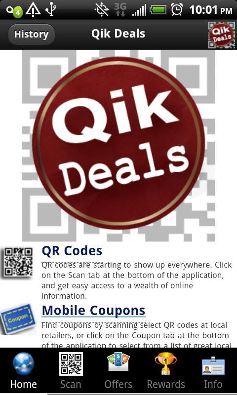 Qik Deals - screenshot