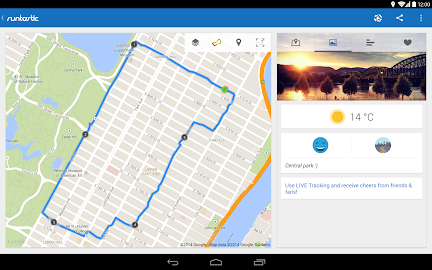 Runtastic Running PRO Screenshot 3