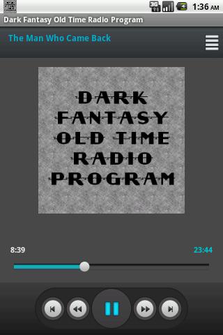 Dark Fantasy Old Time Radio