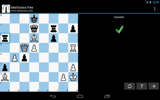 免費棋類遊戲App IdeaTactics 免費國際象棋 阿達玩APP