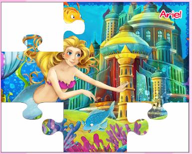 小公主索菲亞玩的拼圖遊戲