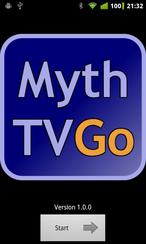 MythTV Go - screenshot