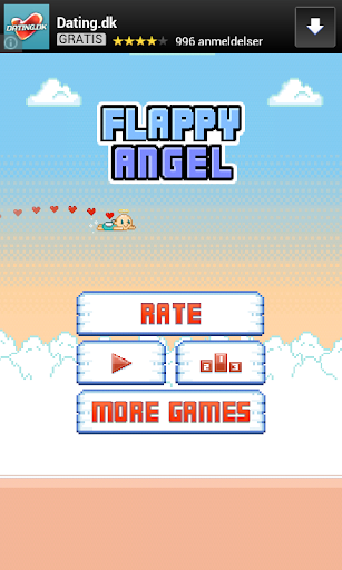 Flappy Angel - Tough Game