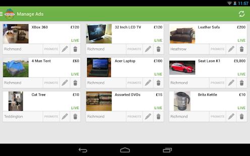 gumtree android programos google play. Black Bedroom Furniture Sets. Home Design Ideas