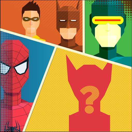 超级英雄问答游戏 益智 App LOGO-APP試玩
