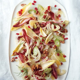 Fennel-and-Endive Salad with Pomegranate Seeds and Walnuts