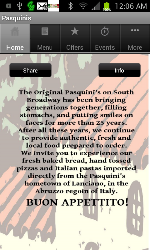 Pasquinis Pizzeria- screenshot