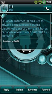 Cyanogen GO SMS Theme- screenshot thumbnail
