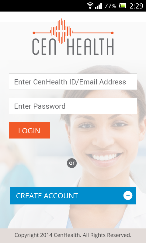 CenHealth- screenshot