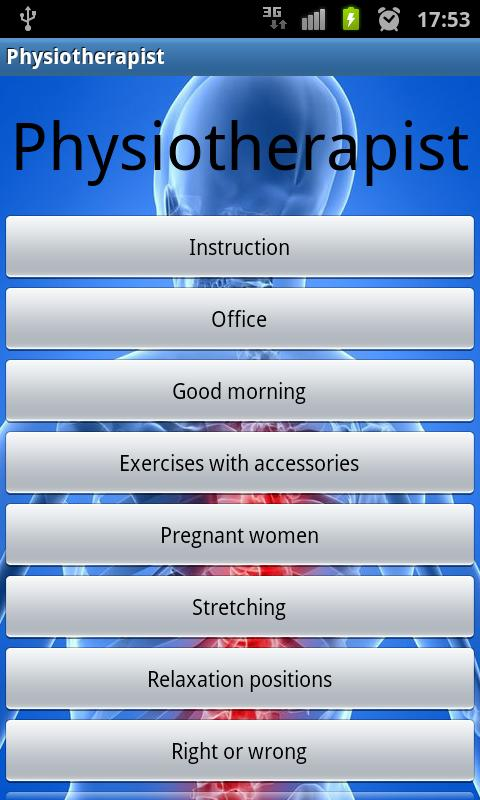 Physiotherapist+ - screenshot