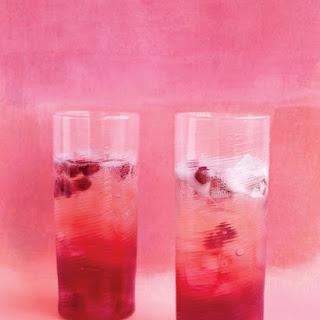 Sparkling Pomegranate Cocktails.