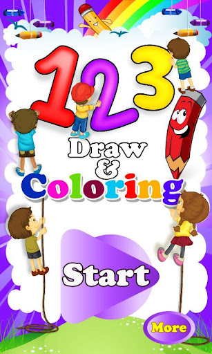 123 Draw and Coloring