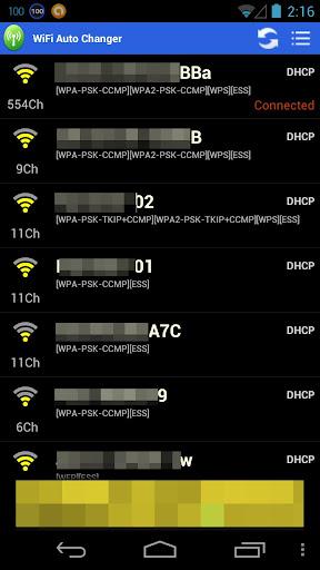 WiFi Auto Changer