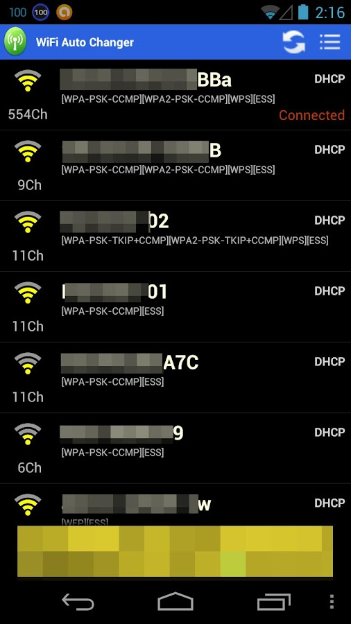 WiFi Auto Changer- screenshot