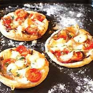 Goat's Cheese And Tomato Tarts
