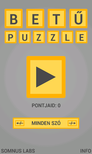 BetűPuzzle – Ki Tudod Rakni