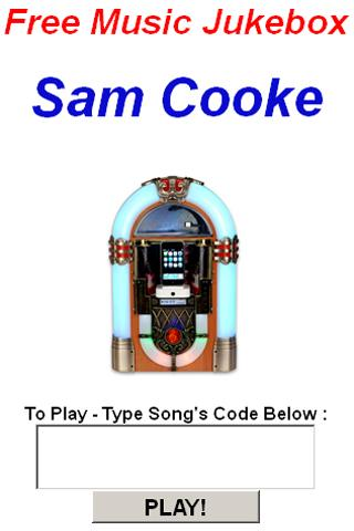 Sam Cooke JukeBox - screenshot