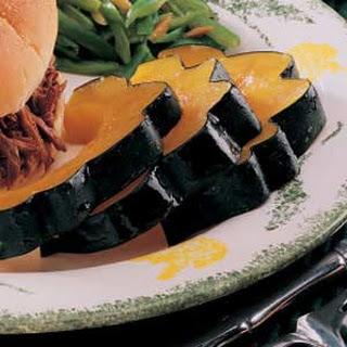 Acorn Squash Slices.