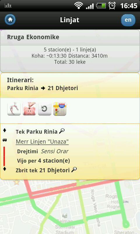 Tirana Buses - screenshot
