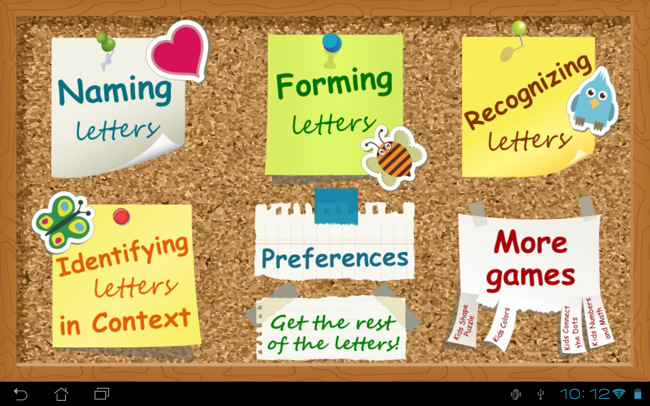 Kids ABC Letters Lite - screenshot