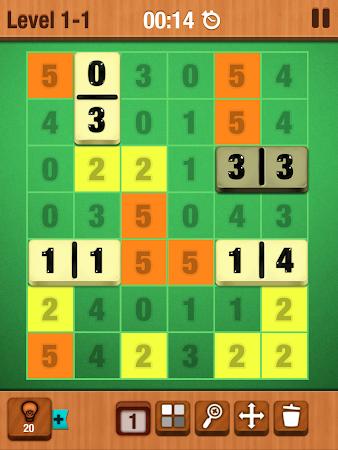 Dominosa - Puzzle Domino Game 1.0.2 screenshot 101665