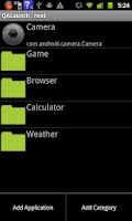 Screenshot of QALaunch
