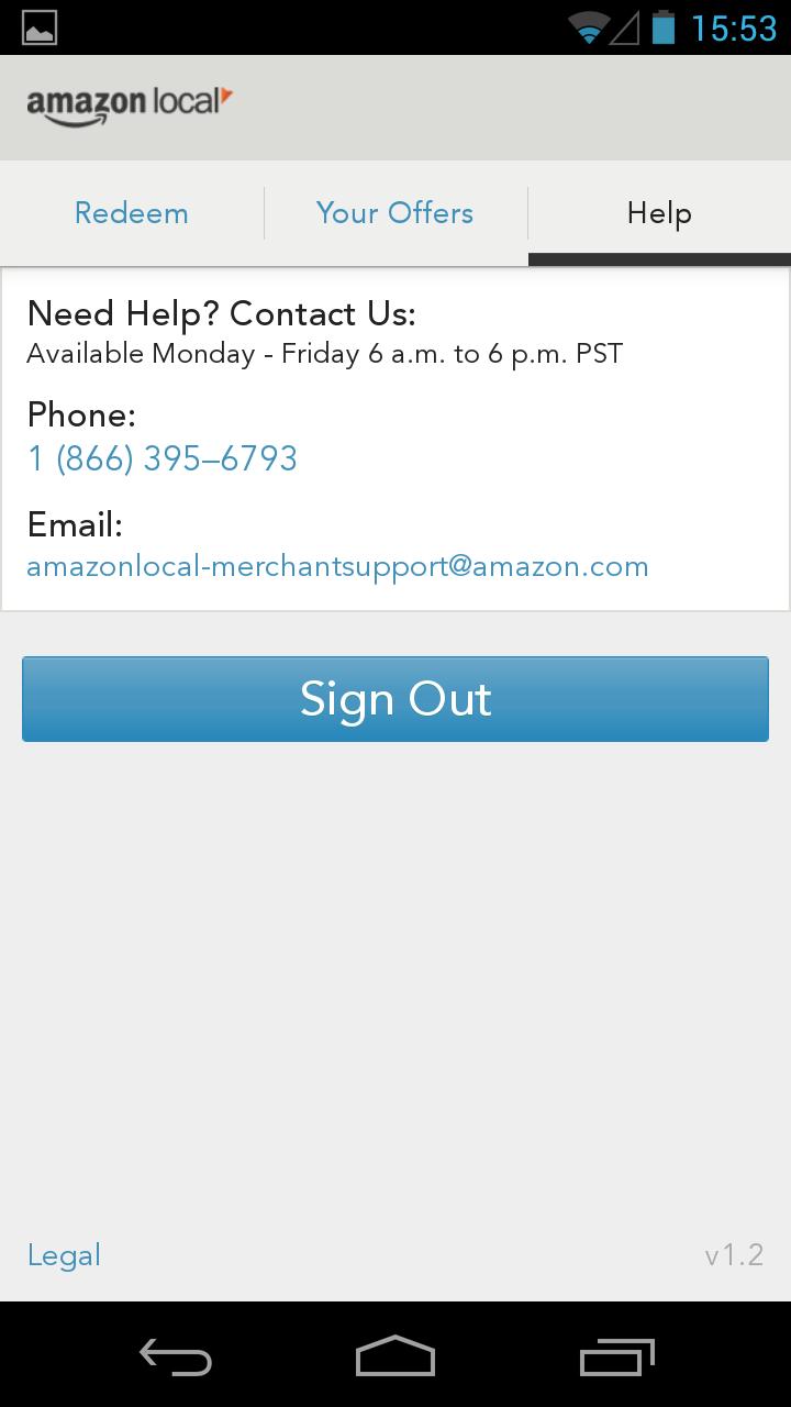 AmazonLocal Merchants screenshot #4