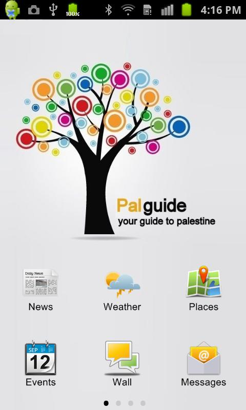 Palguide - screenshot