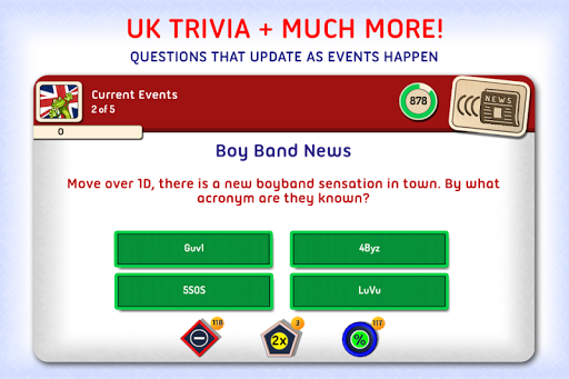 Xac UK:Pop Culture Trivia