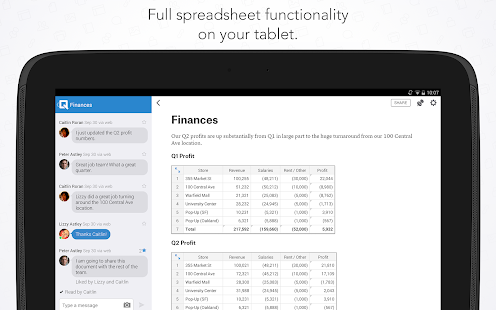 Quip: Docs, Chat, Spreadsheets - screenshot thumbnail