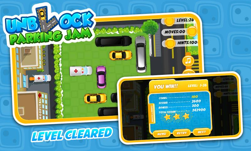 Unblock Parking Jam - Free - screenshot