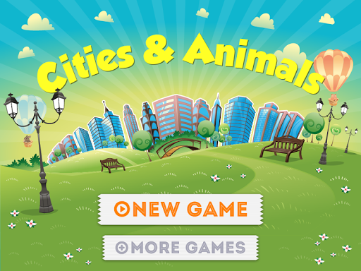 Cities Animals. For Kids