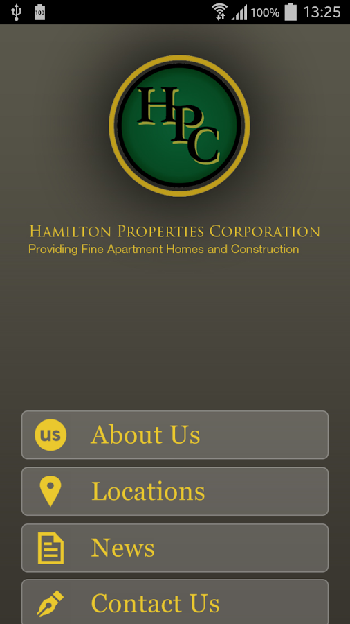 Hamilton Properties Corp.- screenshot