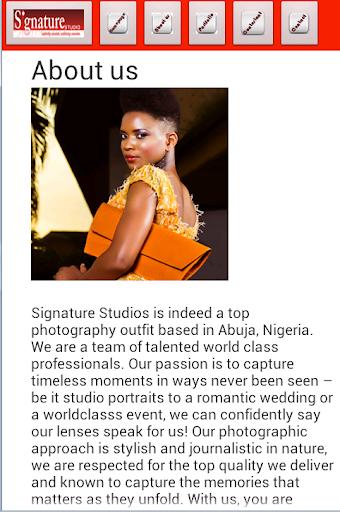 Signature Studio