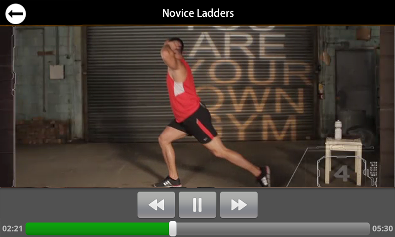 Mark Lauren's Novice DVD- screenshot